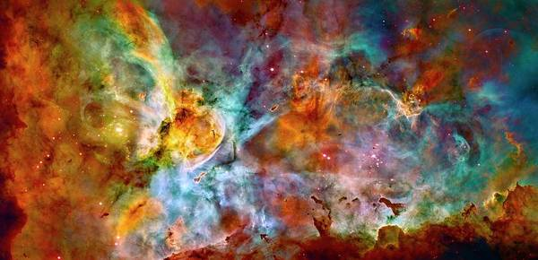 Photograph - Carina Nebula - Wide Panel by Paul W Faust - Impressions of Light