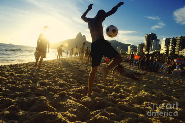 Wall Art - Photograph - Carioca Brazilians Playing Altinho by Lazyllama