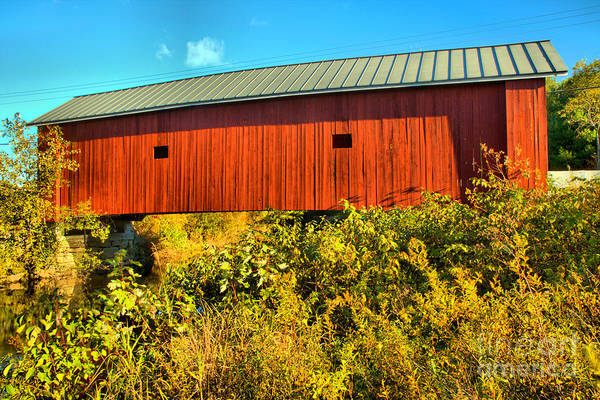 Photograph - Carleton Covered Bridge by Adam Jewell