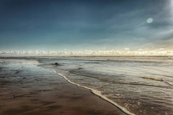 Photograph - Carlsbad Low Tide II by Alison Frank