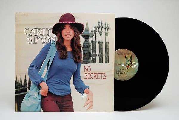 Photograph - Carly Simon Album  by Robert VanDerWal
