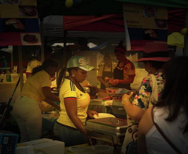 Photograph - Carnaval Del Sol No. 2 by Juan Contreras
