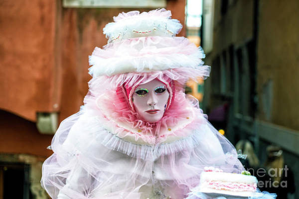 Photograph - Carnival Cake In Venice by John Rizzuto