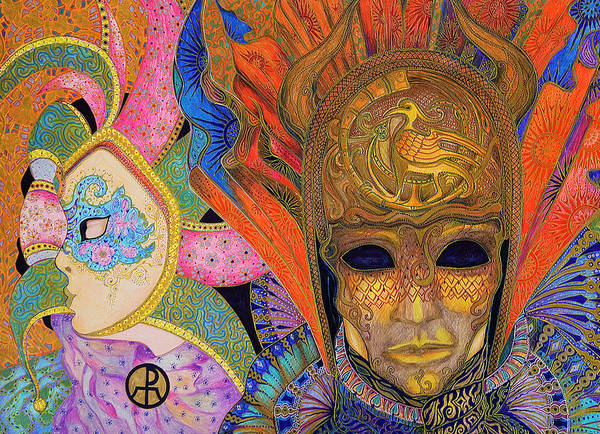 Painting - Carnival by Ellie Perla