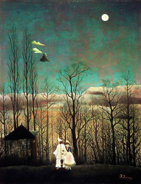 Carnival Painting - Carnival Evening - Digital Remastered Edition by Henri Rousseau