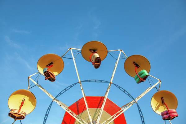 County Fair Wall Art - Photograph - Carnival Fan by Todd Klassy