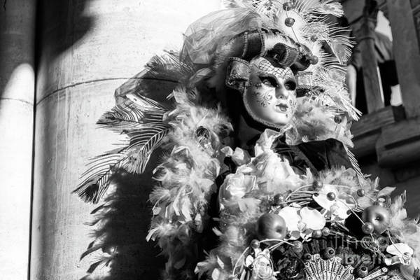 Wall Art - Photograph - Carnival Glamour 2015 In Venice by John Rizzuto