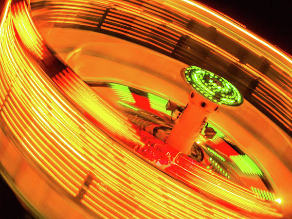 Photograph - Carnival Lights by Stewart Helberg