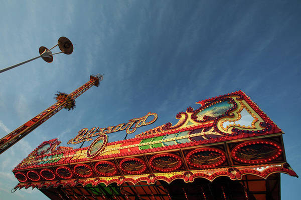County Fair Wall Art - Photograph - Carnival Lights by Todd Klassy