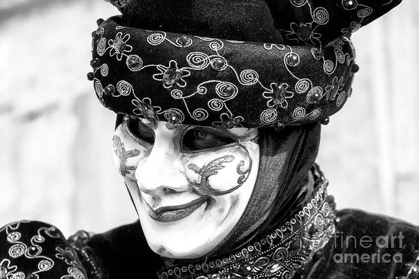 Photograph - Carnival Smile In Venice by John Rizzuto