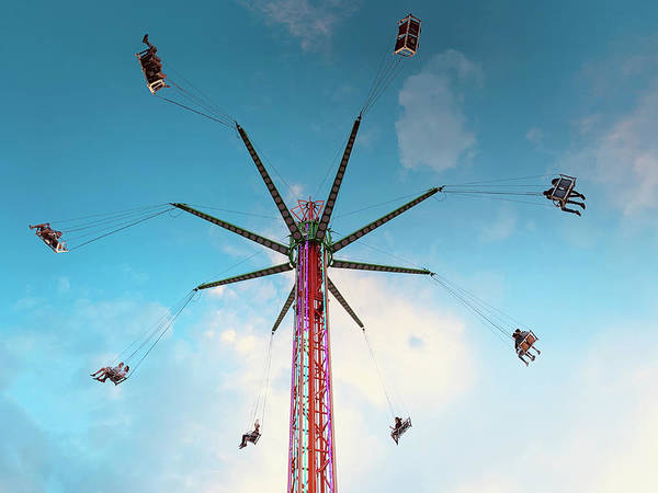 Photograph - Carnival Swing by Marilyn Hunt