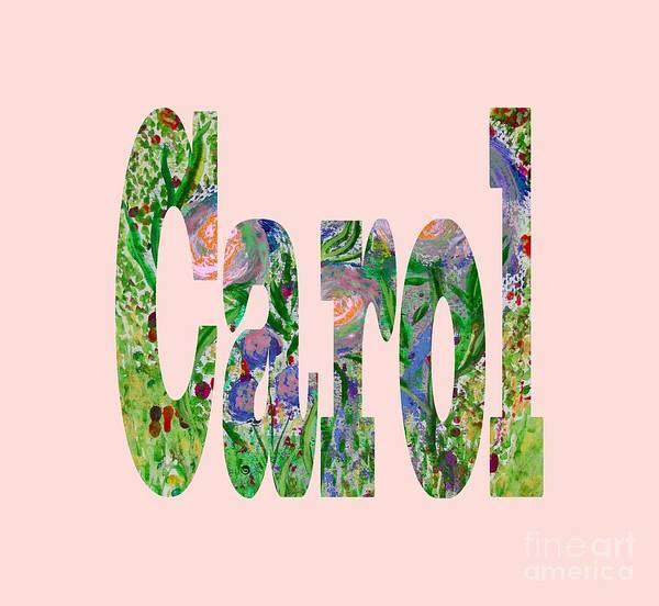 Digital Art - Carol by Corinne Carroll