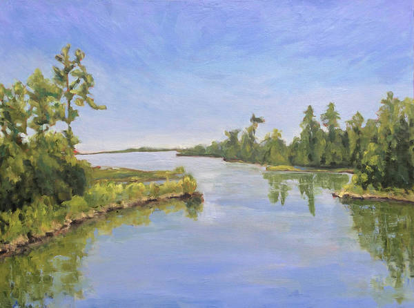 Painting - Carolina Bayou by Bart Levy