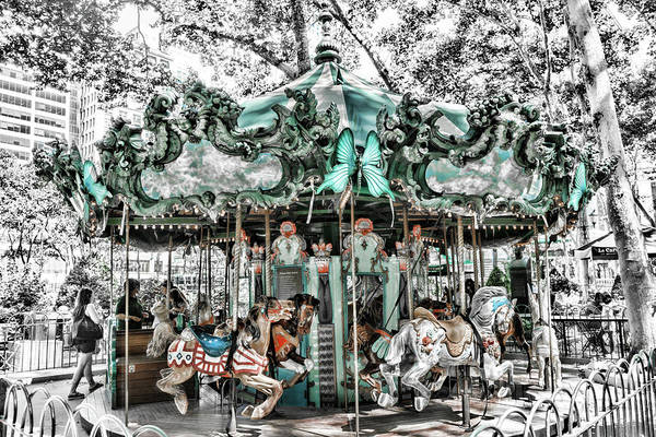 Photograph - Carousel Colors by Sharon Popek