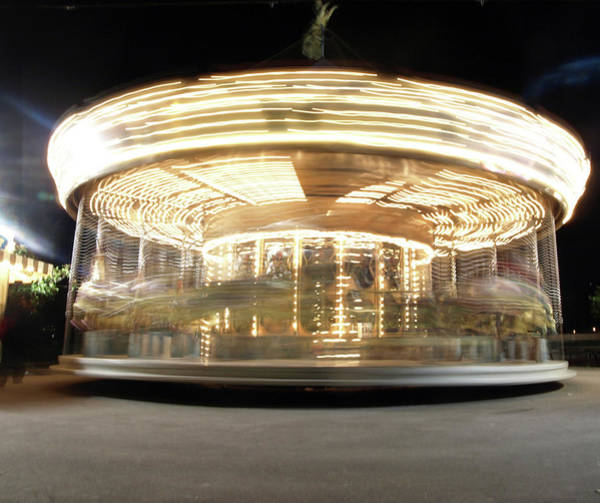 Art Print featuring the photograph Carousel  by Edward Lee
