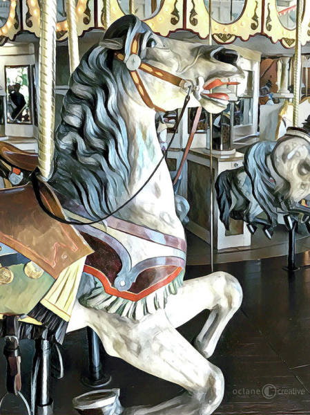 Photograph - Carousel Horse 2 by Tim Nyberg