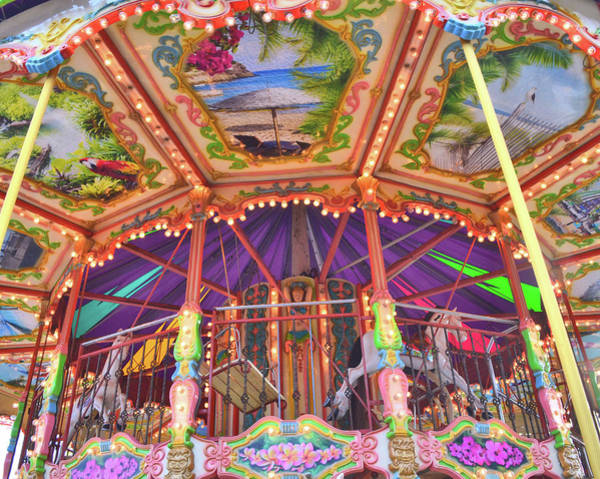 Photograph - Carousel In The Details by JAMART Photography