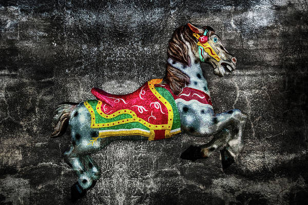 Photograph - Carousel On Stone by Michael Arend