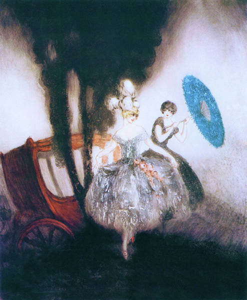 Wall Art - Painting - Carriage - Digital Remastered Edition by Louis Icart