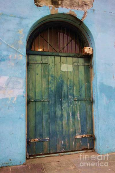 Photograph - Carriage Entrance In The Old French Quarter by Susan Carella