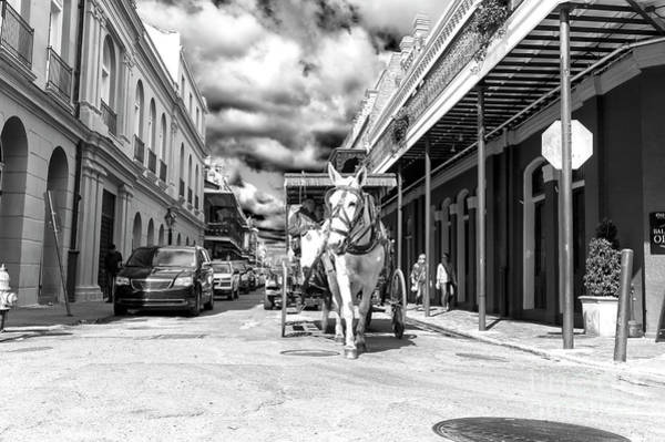 Photograph - Carriage Ride Through The French Quarter New Orleans by John Rizzuto