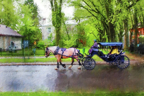 Photograph - Carriage Series 0607 by Carlos Diaz