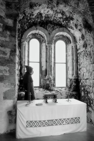 Wall Art - Photograph - Carrickfergus Castle Chapel by Cathy P Jones
