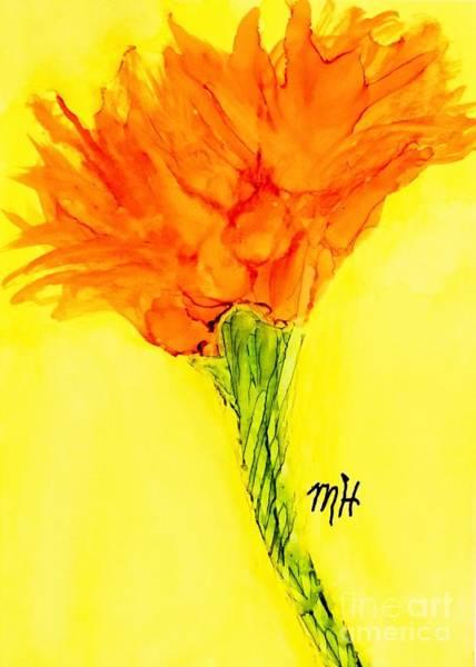 Wall Art - Painting - Carrot Top Flower by Marsha Heiken