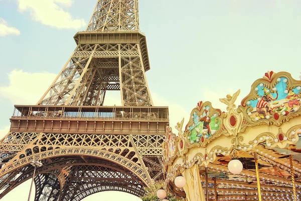 Photograph - Carrousel De La Tour Eiffel by JAMART Photography