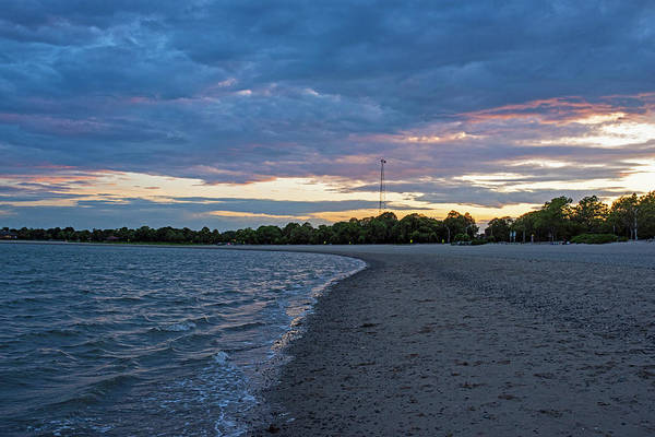 Photograph - Carson Beach Sunset Boston Ma Castle Island by Toby McGuire