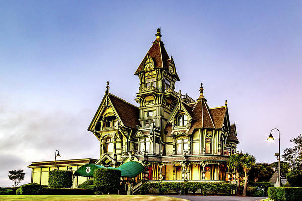 Photograph - Carson Mansion by Bill Gallagher