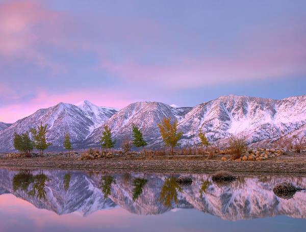 Photograph - Carson River And Carson Range, Nevada by
