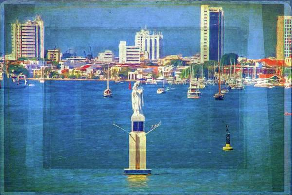 Photograph - Cartagena Beauty In The Water by Alice Gipson
