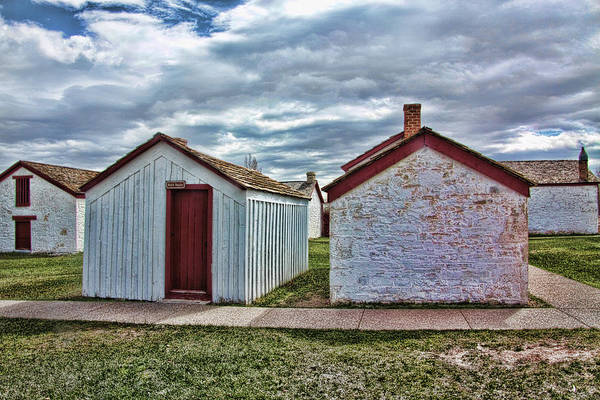 Camera Raw Photograph - Carter's Washhouse, Fort Bridger by Brenton Cooper