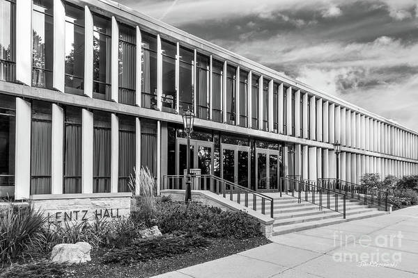 Photograph - Carthage College Lentz Hall by University Icons