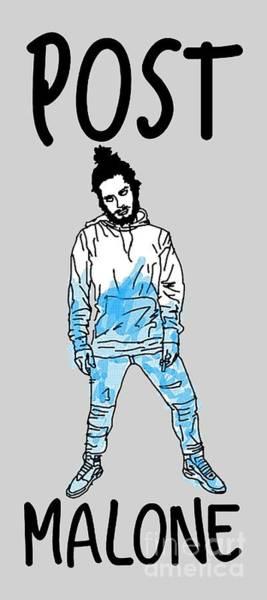 Deja Vu Digital Art - Cartoon Malone Cool by Pedroquarrend