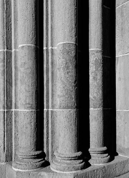 Photograph - Carved Stone Columns by Robert Ullmann