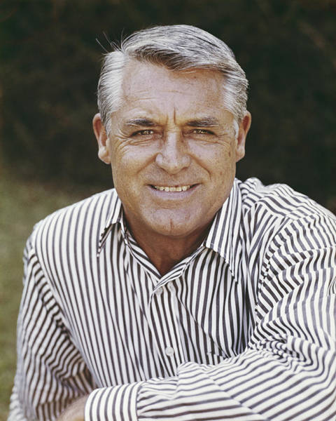 Gray Hair Photograph - Cary Grant by Fpg