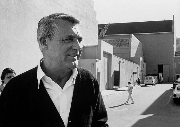 Photograph - Cary Grant by John Dominis