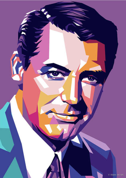 Wall Art - Digital Art - Cary Grant by Stars on Art
