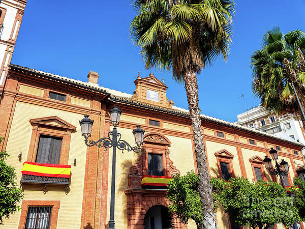 Photograph - Casa Guardiola Seville by John Rizzuto