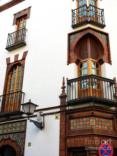 Photograph - Casa Palacio Seville by John Rizzuto