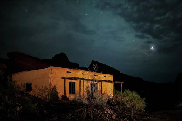 Photograph - Casita Under The Stars by Harriet Feagin