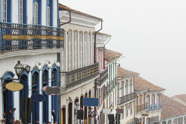 Minas Gerais Wall Art - Photograph - Casas Típicas by Antonello