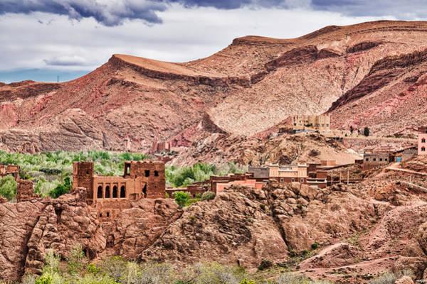 Photograph - Casbah Ruins - Morocco by Stuart Litoff