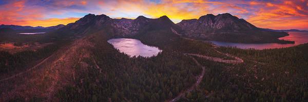 Photograph - Cascade Ablaze By Brad Scott by Brad Scott