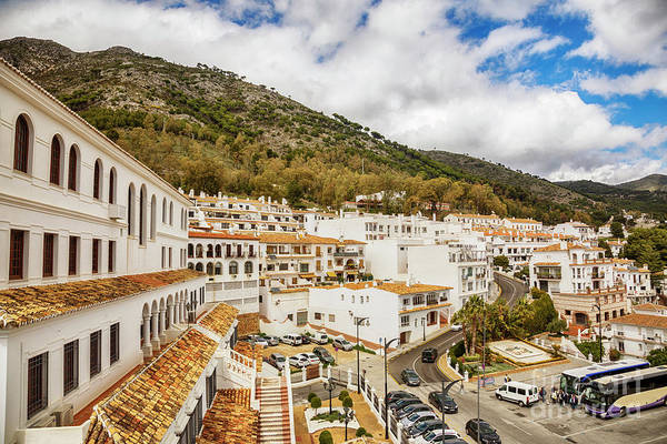 Photograph - cascade in Mijas, Spain by Ariadna De Raadt