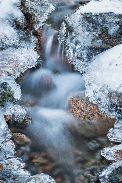 Photograph - Cascade On Ice by Michael Blanchette