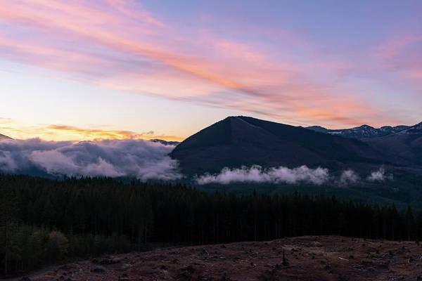 Photograph - Cascade Sunrise by Steven Clark