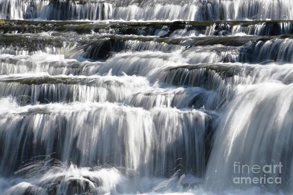 Photograph - Cascades At Burgess Falls 2 by Phil Perkins